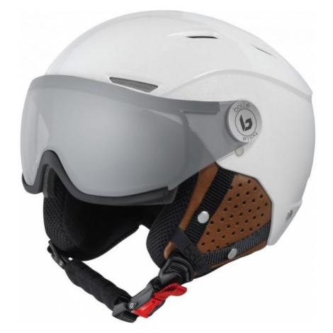 Bolle BACKLINE VISOR PHOTOCHROMIC PREMIUM white - Downhill helmet with visor