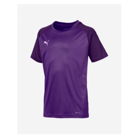 Puma Cup Sideline Core Kids T-shirt Violet Colorful