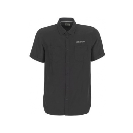Oxbow K1CAMPI men's Short sleeved Shirt in Black