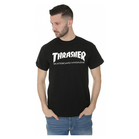 T-Shirt Thrasher Skate Mag - Black
