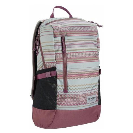 backpack Burton Prospect 2.0 - Aqua Gray Revel Stripe Print