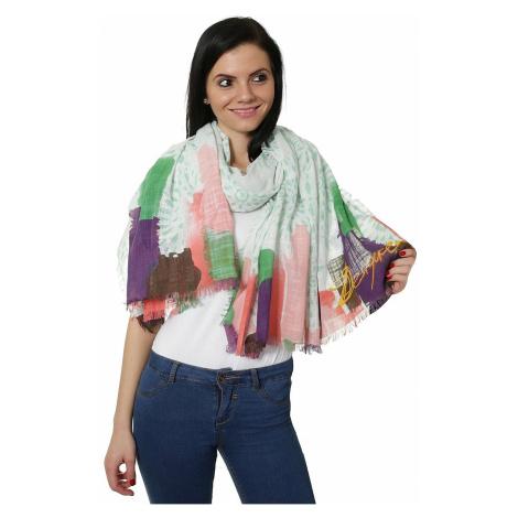scarf Desigual 61W54E6/Ramie Happy Bazar - 4071/Verde Boho