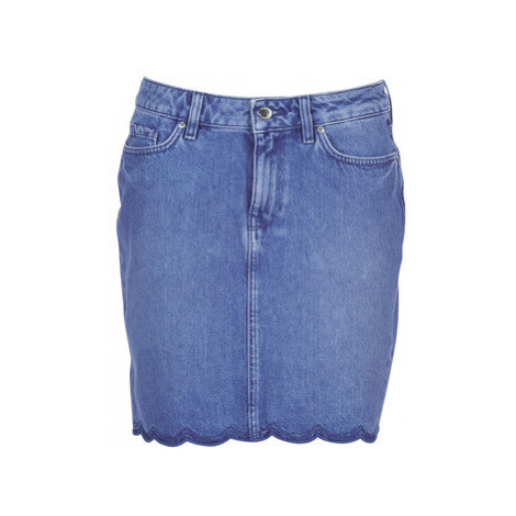 Tommy Hilfiger ROME RW SKIRT BIANCA women's Skirt in Blue