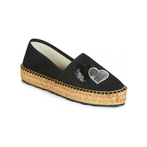 Love Moschino JA10243G07 women's Espadrilles / Casual Shoes in Black