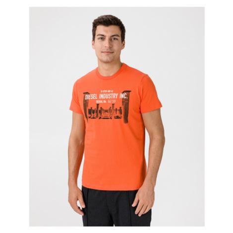 Diesel T-Diego T-shirt Orange