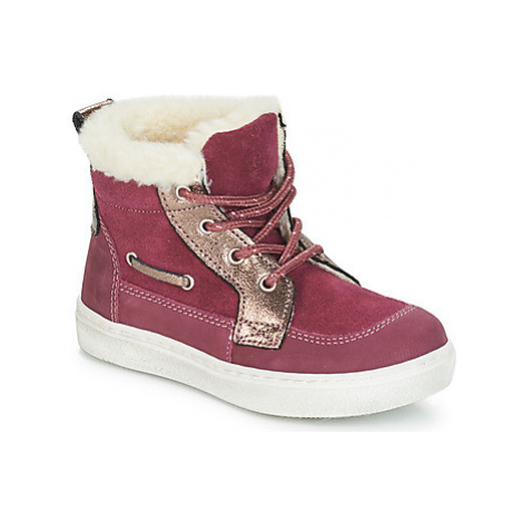 Citrouille et Compagnie JOUINA girls's Children's Mid Boots in Pink