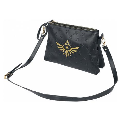 The Legend Of Zelda - Hyrule - Handbag - black-gold