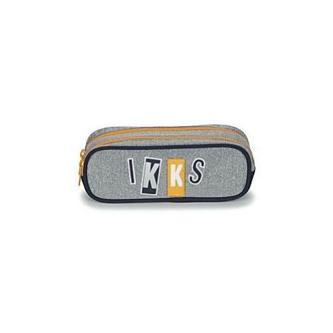 Ikks IKKS KINGS TROUSSE DOUBLE boys's Children's Cosmetic bag in Grey