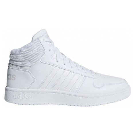 adidas HOOPS 2.0 MID white - Women's leisure footwear