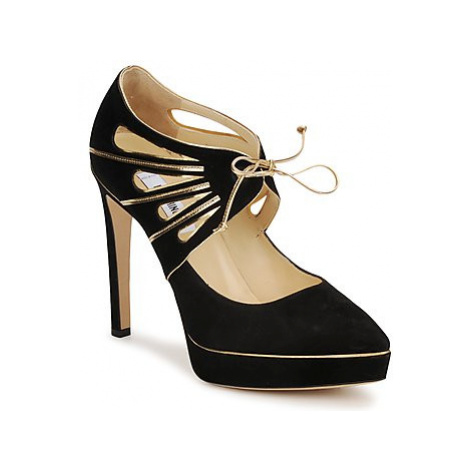 Moschino MA1004 women's Court Shoes in Black