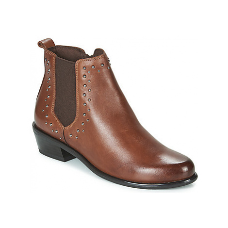 Caprice ALICIA women's Mid Boots in Brown