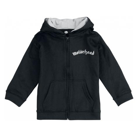 Motörhead - England - Kids hooded zip - black