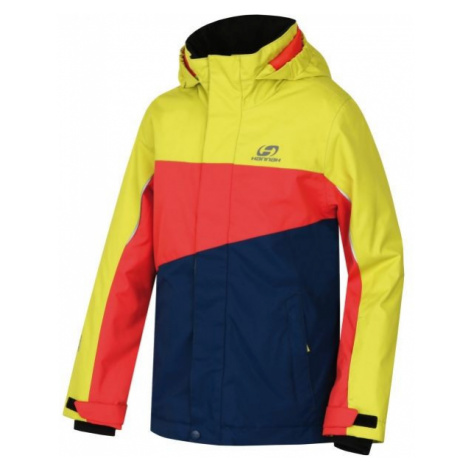 Hannah MAJLO JR yellow - Kids' skiing jacket
