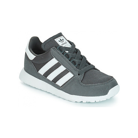 Adidas OREGON girls's Children's Shoes (Trainers) in Grey