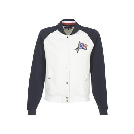 Tommy Hilfiger CAMILA-HOODED-DRESS women's Jacket in White