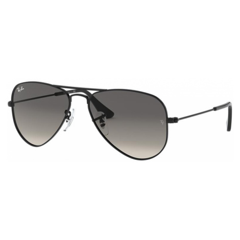 Ray Ban Unisex RJ9506S AVIATOR JUNIOR - Frame color: Black, Lens color: Grey-Black, Size 50-13/1