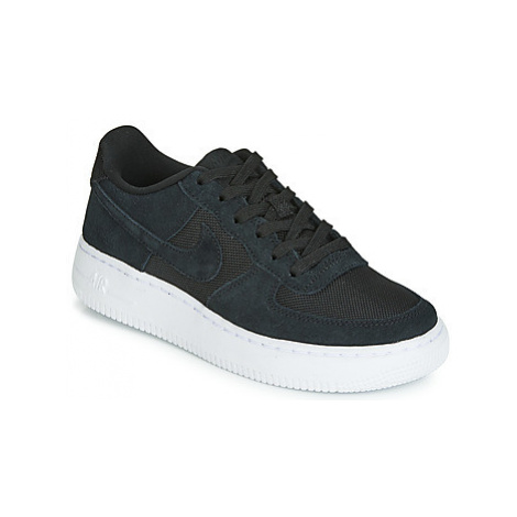 Nike AIR FORCE 1-1 girls's Children's Shoes (Trainers) in Black