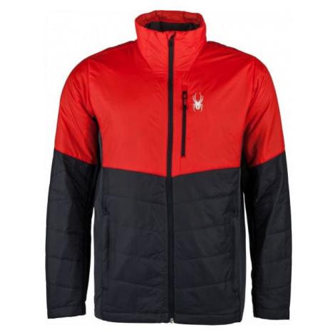 Spyder M GLISSADE HYBRID black - Men's jacket