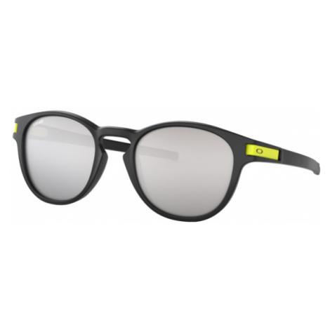 Oakley Men's Black Latch™ Valentino Rossi Signature Series Sunglasses