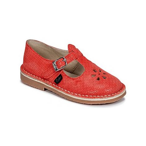 Aster DINGO girls's Children's Shoes (Pumps / Ballerinas) in Red