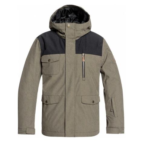 jacket Quiksilver Raft - CRE0/Grape Leaf - boy´s