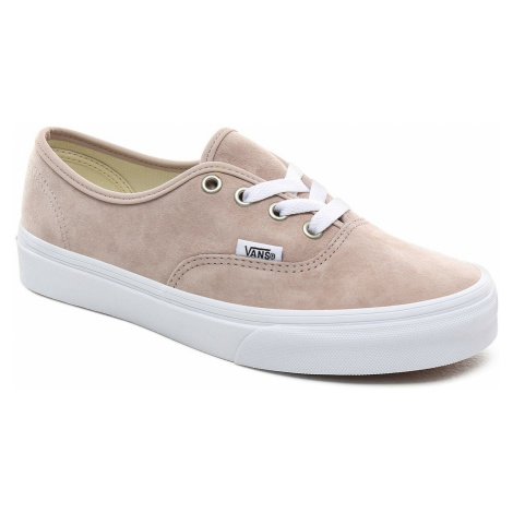 shoes Vans Authentic - Pig Suede/Shadow Gray/True White