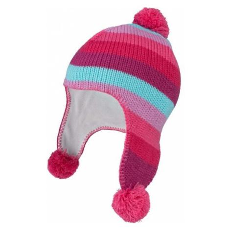 Pink girls' headwear