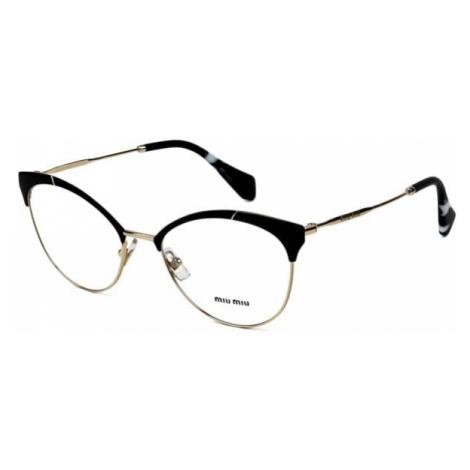 Miu Miu Eyeglasses MU50PV 1AB1O1