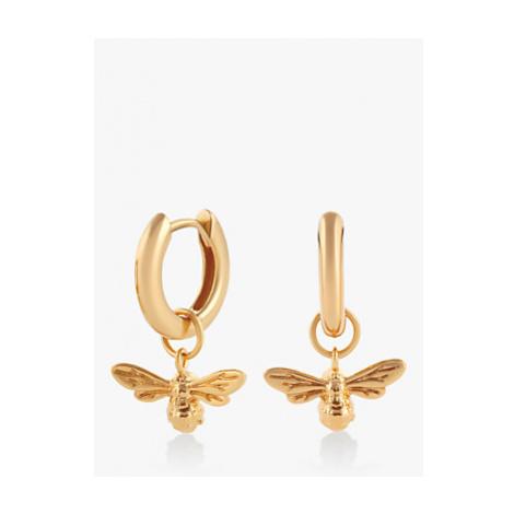 Olivia Burton Small Bee Hoop Earrings, Gold OBJAME34N