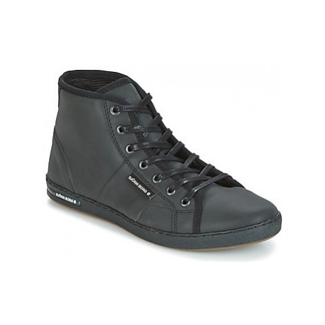 Björn Borg GINA MID REFL women's Shoes (High-top Trainers) in Black