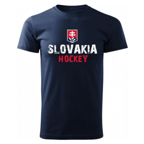 Střída SLOVAKIA HOCKEY PRINT dark blue - Men's T-shirt