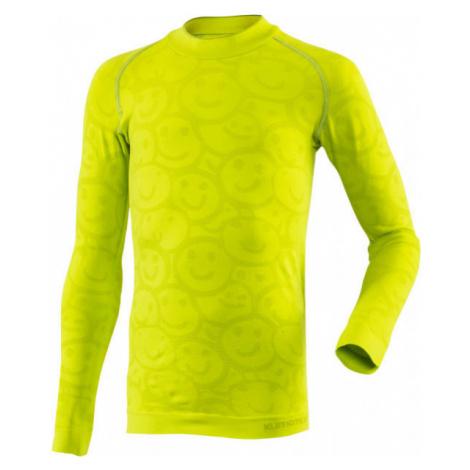 Klimatex MORAMBO light green - Children's functional thermal T-shirt