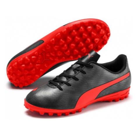 Puma RAPIDO TT JR black - Kids' turf football boots