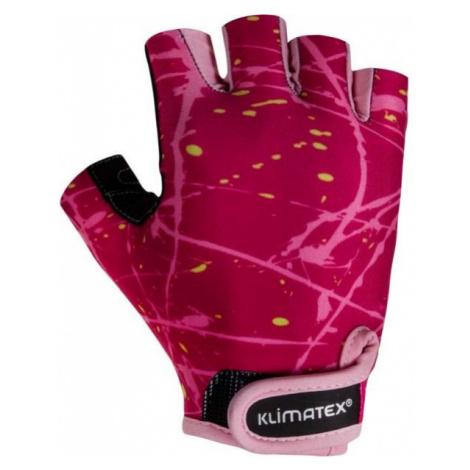 Klimatex ALED wine - Kids' Cycling Gloves