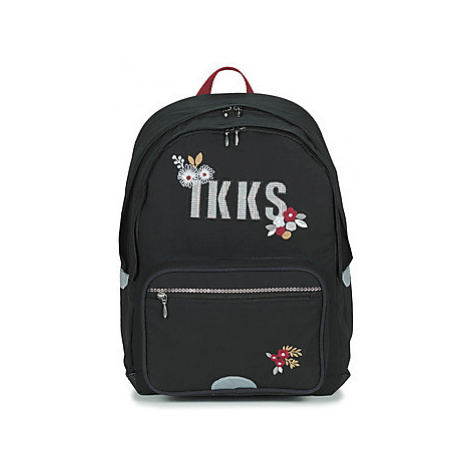 Ikks BLACK TEA SAC A DOS L girls's Children's Backpack in Black