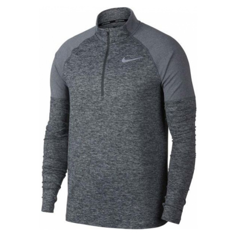Nike ELMNT TOP HZ 2.0 gray - Men's running T-shirt