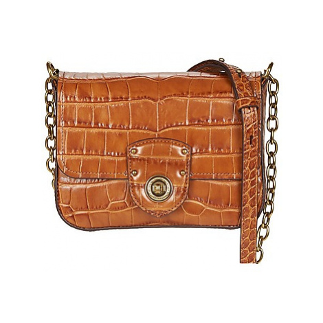 Lauren Ralph Lauren MILBROOK CHAIN CROSSBODY women's Shoulder Bag in Brown