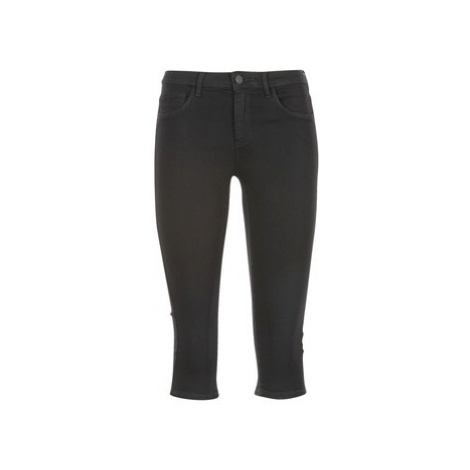 Only RAIN KNICKERS women's Cropped trousers in Black