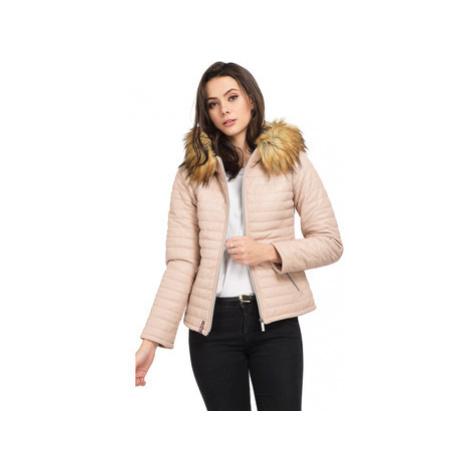 Oakwood Sheep leather down jacket women's Jacket in Pink