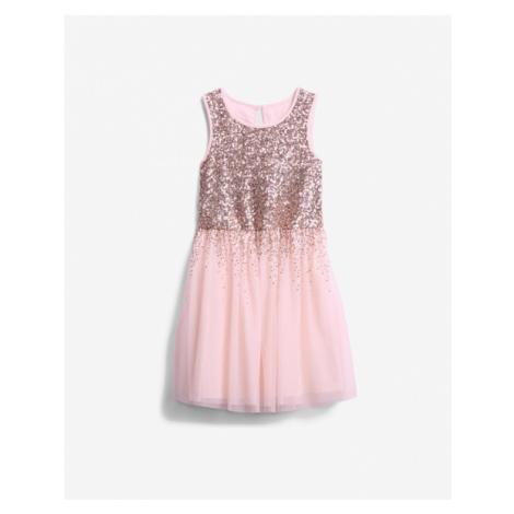 GAP Kids Dress Pink Beige
