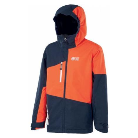 Picture MILO black - Children's winter jacket