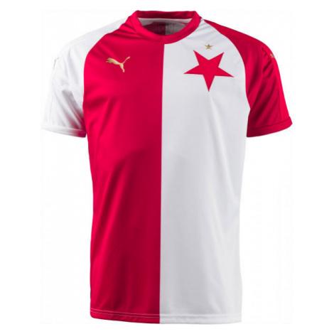 Puma SK SLAVIA HOME JSY KIDS white - Original football jersey