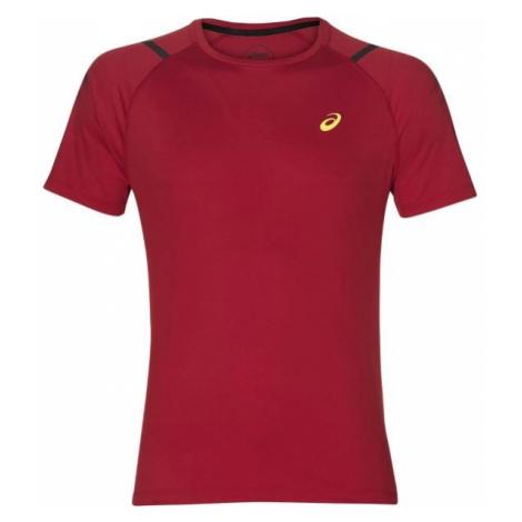 Asics ICON SS TOP red - Men's running T-shirt