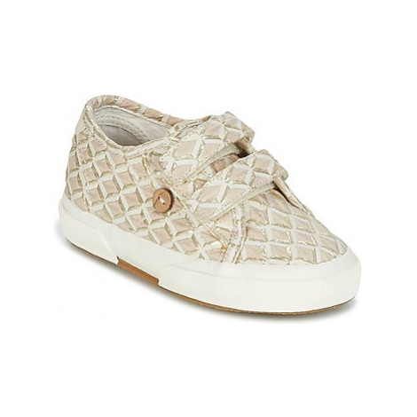Faguo BIRCH SYNTHETIC girls's Children's Shoes (Trainers) in Gold