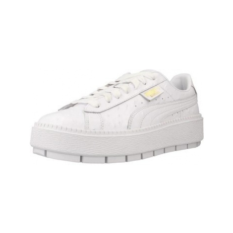 Puma TRACE OSTRICH WN' women's Shoes (Trainers) in White