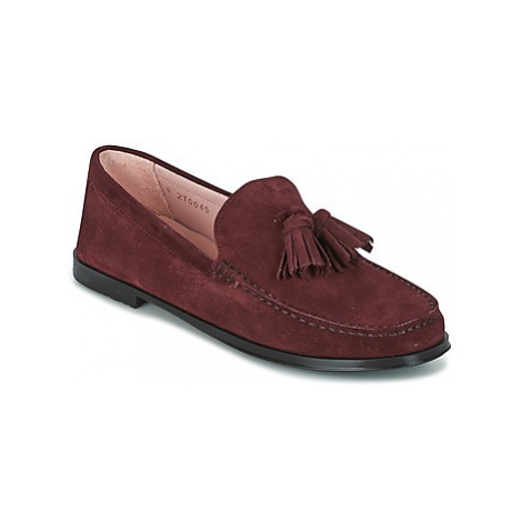 Pretty Ballerinas CROSTINA RIOJA women's Loafers / Casual Shoes in Red