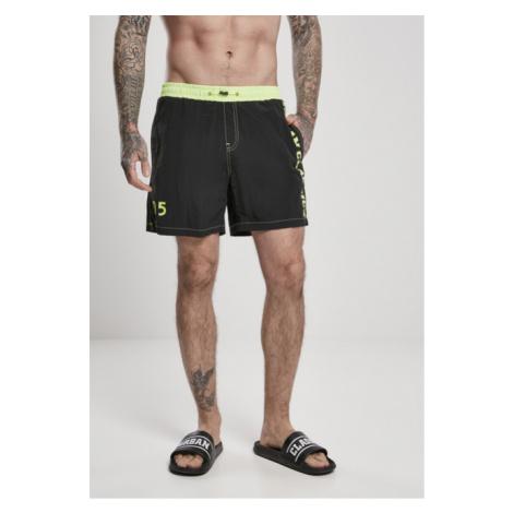 Urban Classics UC Logo Swim Shorts black