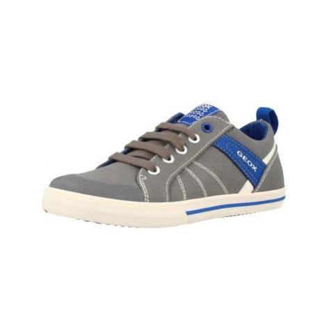 Geox J KILWI BOY boys's Children's Shoes (Trainers) in Grey
