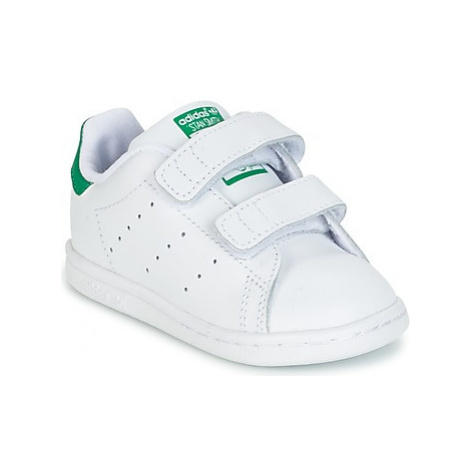 Adidas STAN SMITH CF I girls's Children's Shoes (Trainers) in White