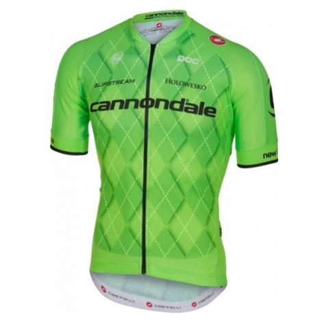 Castelli TEAM 2.0 JERSEY FZ green - Men's cycling jersey